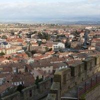 Франция, Каркассон, Вид города с Замка :: Валерий Павловский