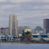 Вид на комплекс Ривьера. Казань :: Юрий Казарин