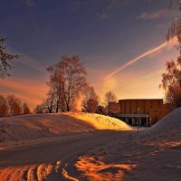 зимний пейзаж-2 :: Андрей Куприянов