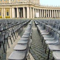 Рим. Ватикан. Площадь перед Собором Святого Петра. :: Юрий Казарин