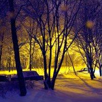 Реутов. Зимний пейзаж. :: Игорь Герман
