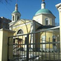 Храм Тихвинской иконы Божией Матери в Сущеве :: Владимир Прокофьев