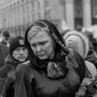 День скорби по погибшим на Евромайдане :: Олег Самотохин