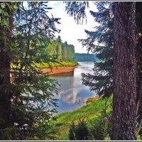 Путешествие по реке Пинега :: Иван Клещин