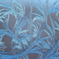 Морозный узор на окне :: Валерий Бочкарев