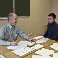 Принимая экзамен по гимнастике :: Александр Рябчиков