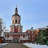 моя столица .донской монастырь(патриарший) Москва(колокольня) :: юрий макаров
