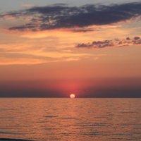 Закат на Азовском море :: Наталья Лунева