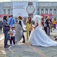 Фотосессия на площади Сан-Марко :: Лидия Цапко