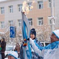 Паралимпийский огонь :: Айаал дьяконов