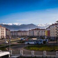 Вид на горы :: Виола Мясникова