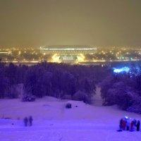 Зимняя сказка. Москва. Воробьёвы горы. :: Игорь Герман
