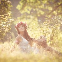 лесная нимфа :: Оксана Солопова