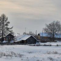 Зима в деревне :: Luis-Ogonek *