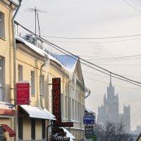 Кто живёт в Китай-городе? Неужели, китайцы? :: Ирина Данилова