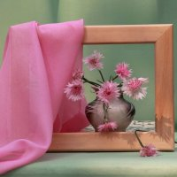 С розовыми васильками :: Наталья Казанцева