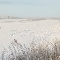 Зимняя река :: Екатерина Фокс