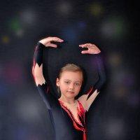 Юная гимнастка :: Евгения Чернова