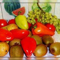 Овощи, фрукты.. :: Наталия Короткова