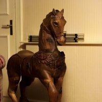а у тебя была лошадка в детстве? :: liudmila drake