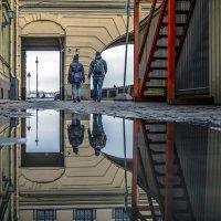 Набережная Зимней канавки*** :: Valeriy Piterskiy
