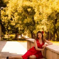 Золото и бордо :: Юлия Лемехова