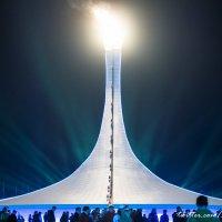 Олимпийский огонь на Medal plaza :: Павел Осокин