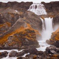вид на водопад Диньянди (Исландия) :: Вячеслав Ковригин