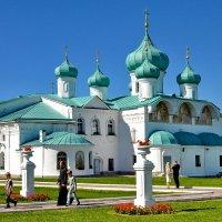 Преображенский собор 1644 г.  Свято-троицкий монастырь Александра Свирского. :: Виталий Половинко