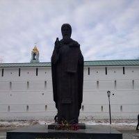 Сергиев Посад.Памятник Сергию Радонежскому..2014г. :: Мила