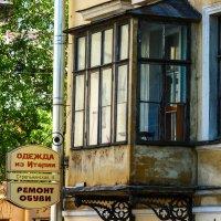 Старый балкон.Стрельнинская ул. 2. :: Александр Лейкум