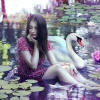Водные лилии :: Инна Шостак