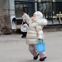 Бегом к маме. :: Александр Степовой