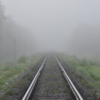 Утро туманное... :: Владик Дружков