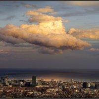 Отражение заката. :: Анатолий