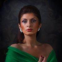 Lady in green.... :: Андрей Войцехов