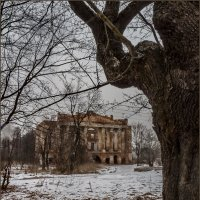 Пейзаж с руинами :: Наталья Rosenwasser