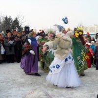 Прощальный танец зимы. :: Нина