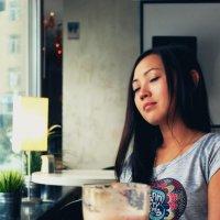Портрет в кофейне :: Ислам Абдукапаров