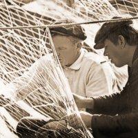 Белозерские рыбаки :: Валерий Талашов