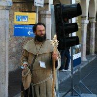 монах в Ассизи :: Лидия кутузова