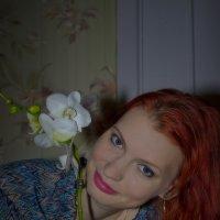 С Орхидеей. 2 :: Dmitri_Krzhechkovski Кржечковски