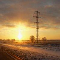 по дороге на Горно-лыжную базу :: Олеся Селиванова