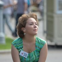Вело-ретро-леди в Сокольниках :: Alexander Zzz...