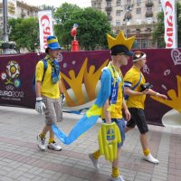 Фаны Евро 2012 :: Алла Губенко