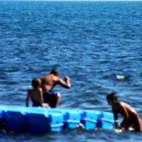 Увлеченное купание... :: Елена Васильева