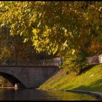 Золотая осень. Мост. :: Ярослав Соболев