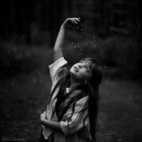 Маленькая лесная колдунья :: Анна Анхен