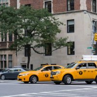 Такси, Нью-Йорк :: Виталий Гармаш