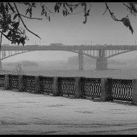 Первый утренний октябрьский снег в столице Сибири :: Олеся Селиванова